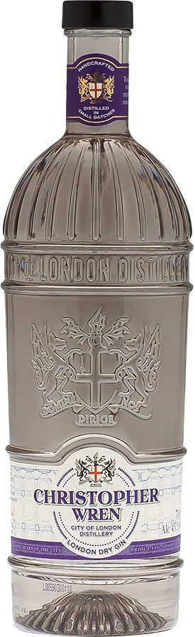 City of London - Christopher Wren Gin 70cl Bottle
