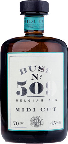 Buss No.509 - Midi Cut Gin 70cl Bottle