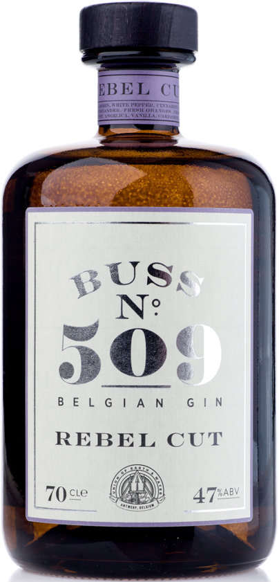 Buss No.509 - Rebel Cut Gin 70cl Bottle