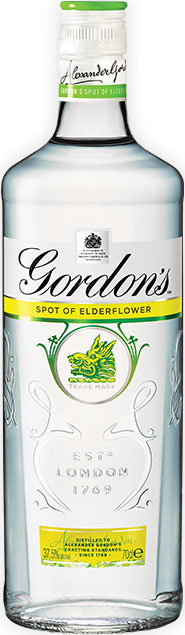 Gordons - Elderflower Gin 70cl Bottle