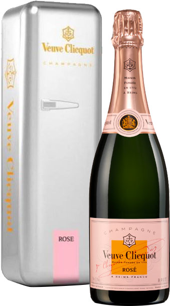 Veuve Clicquot  Rose Fridge Pack 75cl Bottle