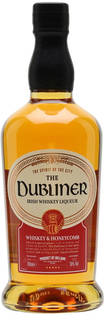 The Dubliner - Whiskey & Honeycomb 70cl Bottle
