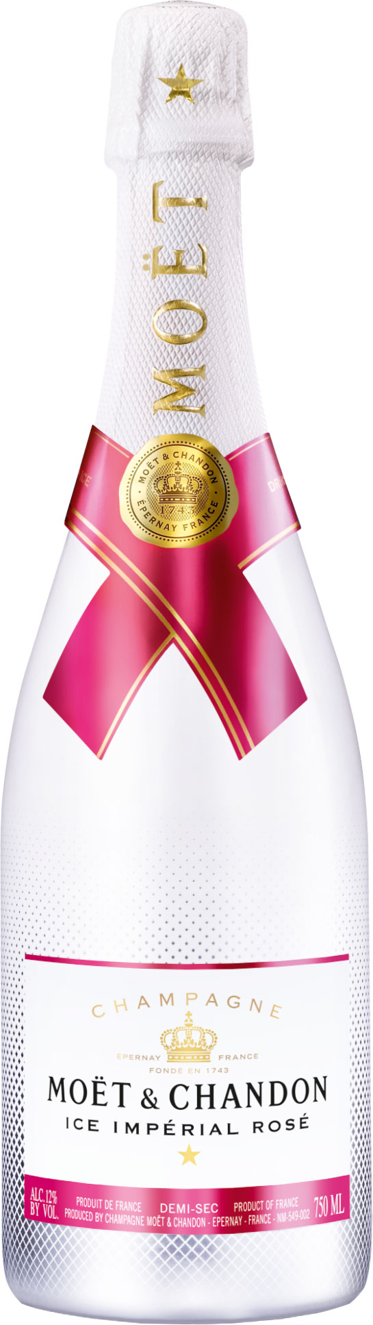 Moet & Chandon  Ice Imperial Rose 75cl Bottle