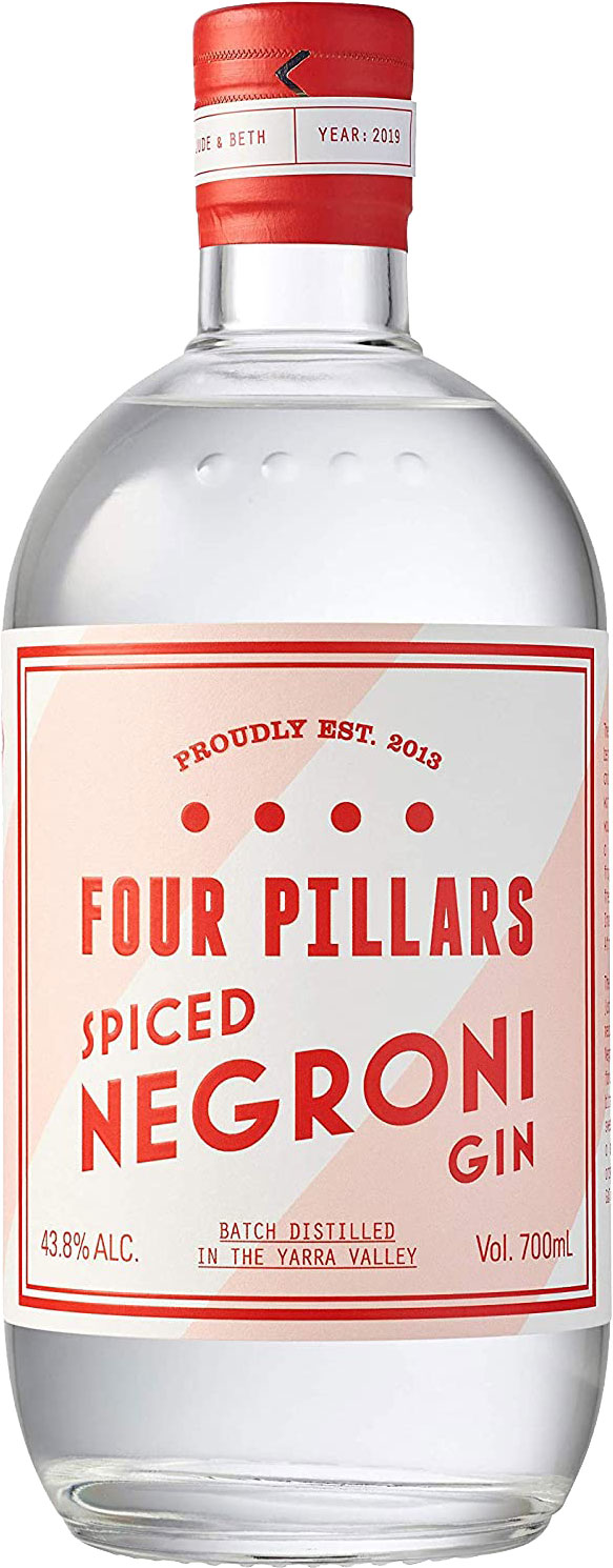 Four Pillars - Spiced Negroni Gin 70cl Bottle