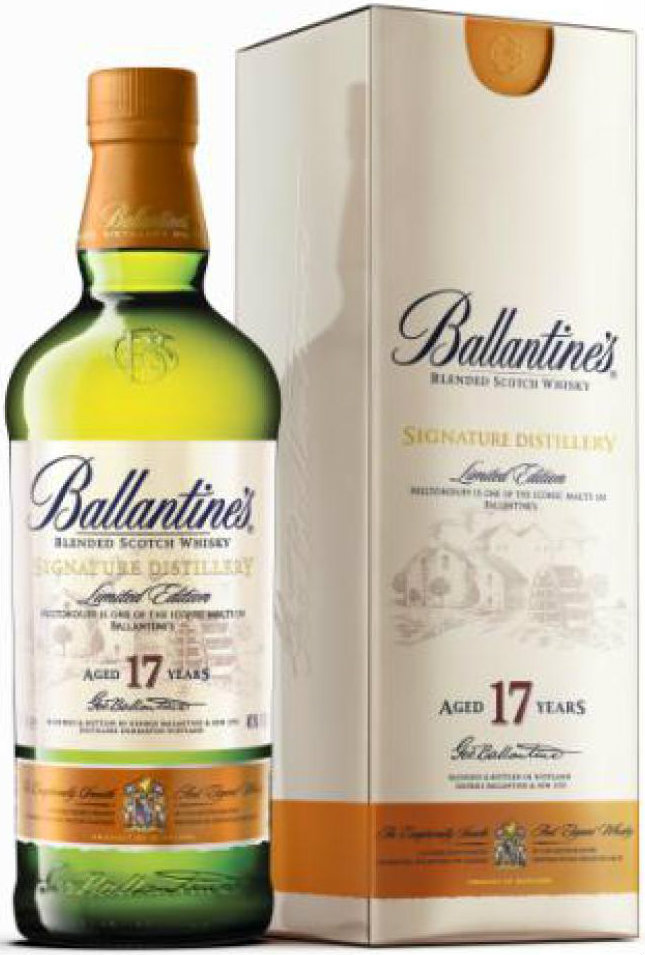 Ballantines - Miltonduff 17 Year Old 70cl Bottle