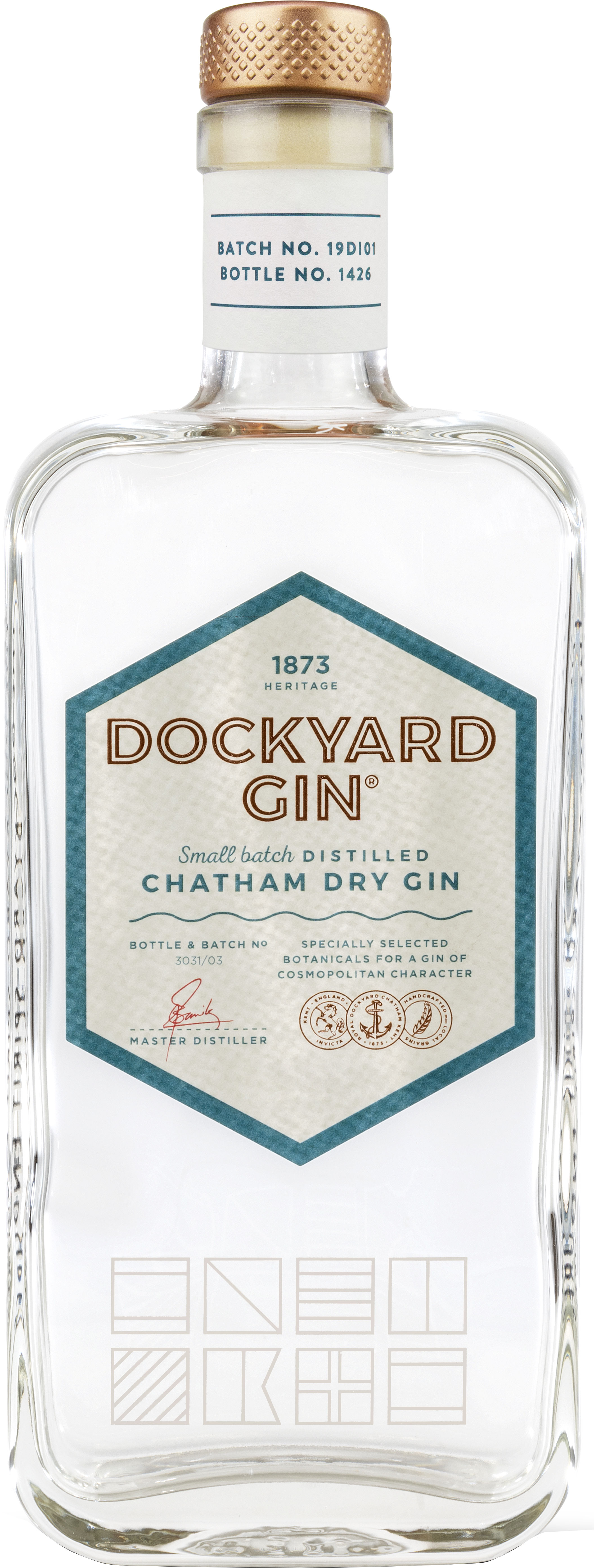 Dockyard - Chatham Dry Gin 50cl Bottle