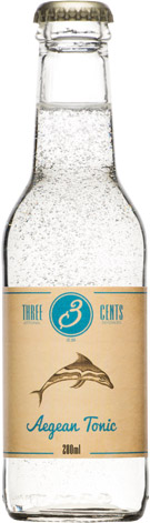 Three Cents - Aegean Tonic 24x 200ml Bottles