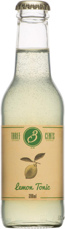 Three Cents - Lemon Tonic 24x 200ml Bottles