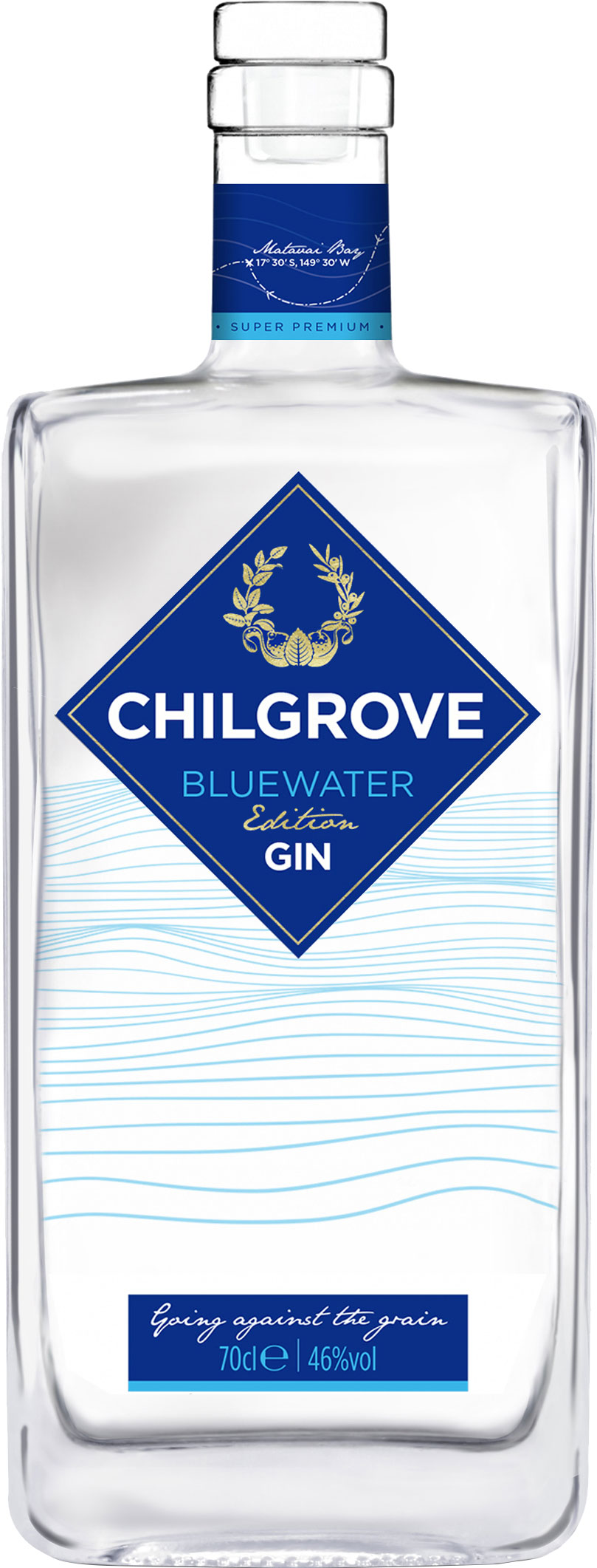 Chilgrove - Bluewater Edition Gin 70cl Bottle