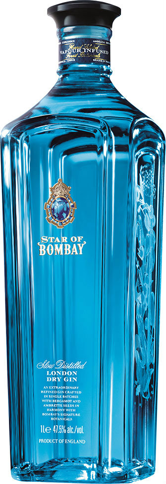 Bombay Sapphire - Star Of Bombay Gin 70cl Bottle