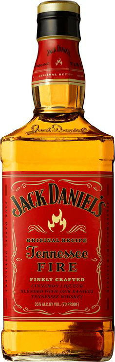 Jack Daniels  Tennessee Fire 70cl Bottle