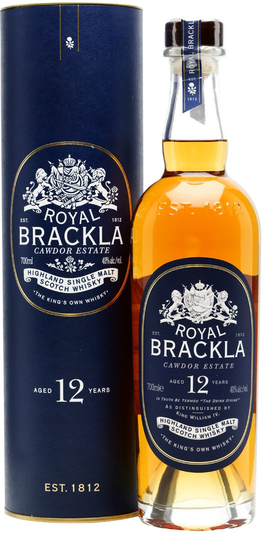Royal Brackla - 12 Year Old 70cl Bottle