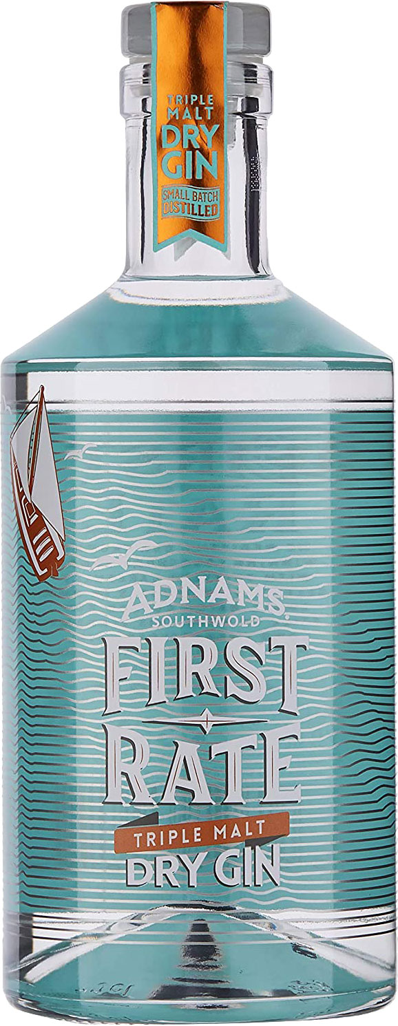 Adnams - First Rate Gin 70cl Bottle