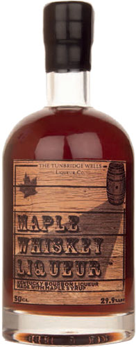The Tunbridge Wells Co - Maple Whiskey Liqueur 50cl Bottle