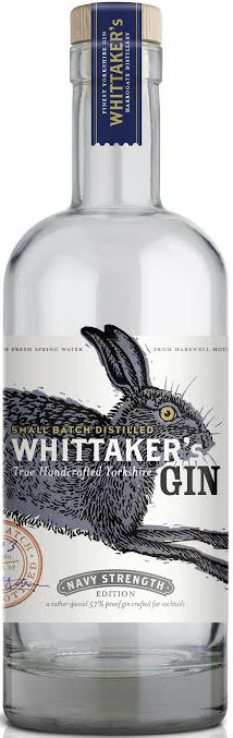 Whittaker's - Navy Strength Gin 70cl Bottle