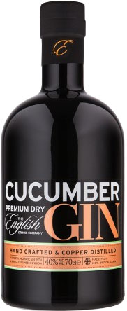 The English Drinks Company - Cucumber Gin 70cl Bottle