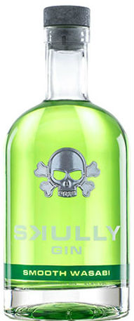 Skully - Smooth Wasabi Gin 70cl Bottle