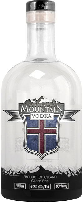 Icelandic Mountain Vodka 50cl Bottle