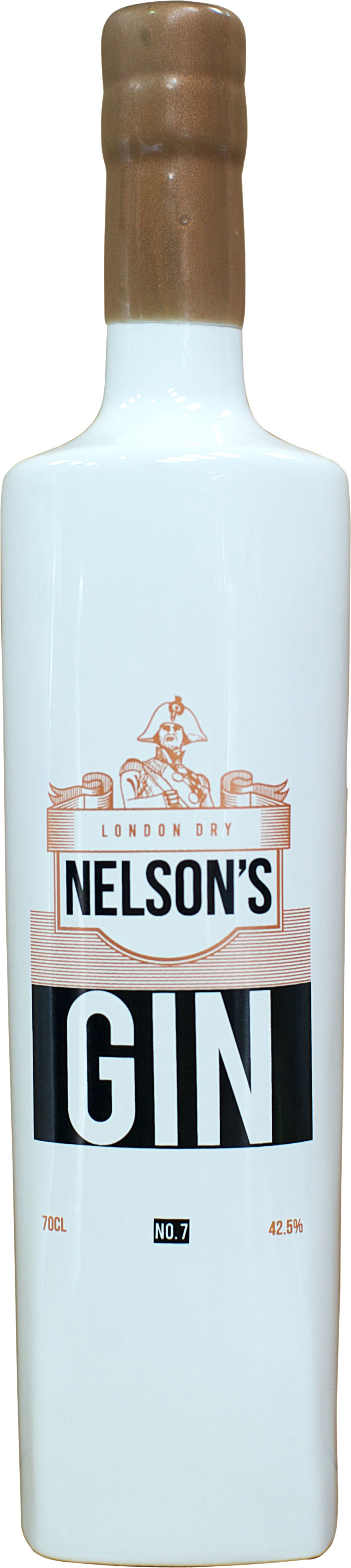 Nelson's - London Dry Gin 70cl Bottle