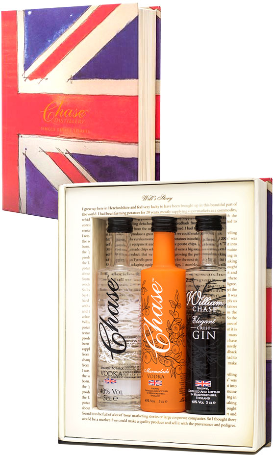 Image of Chase Distillery - Brand Box Trio 3x 5cl Miniatures