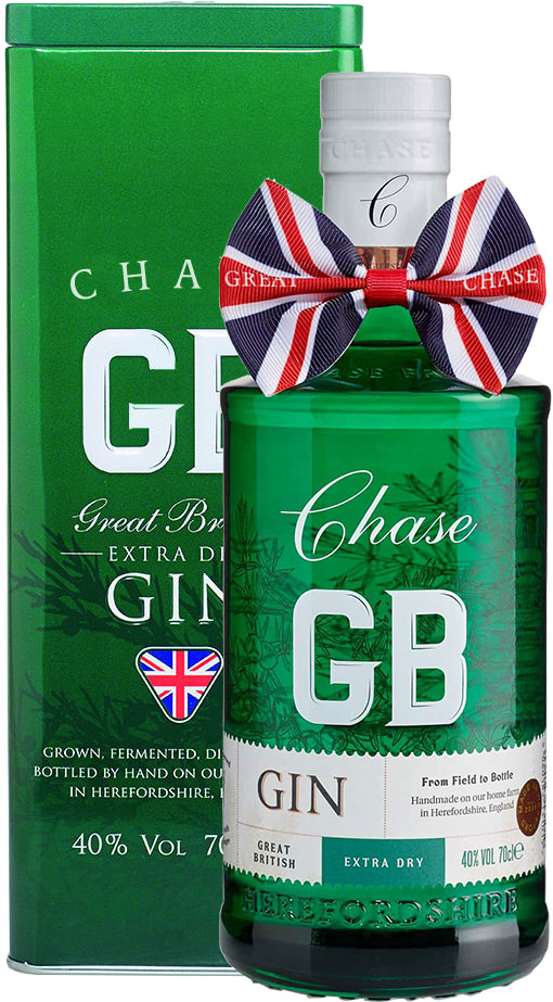 Chase Distillery - GB Extra Dry Gin in Tin 70cl Bottle