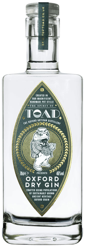 Toad - Oxford Dry Gin 70cl Bottle