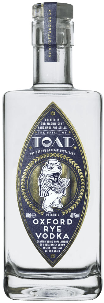 Toad - Oxford Rye Vodka 70cl Bottle