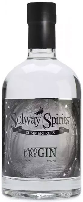 Solway - Dry Gin 70cl Bottle