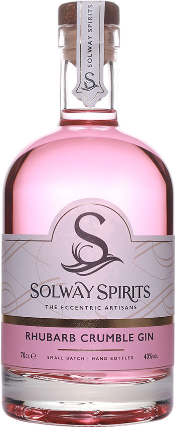Solway - Rhubarb Crumble Gin 70cl Bottle
