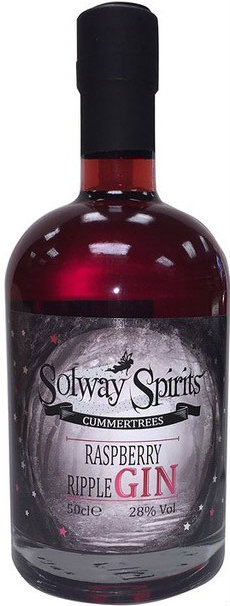 Solway - Raspberry Ripple Gin Liqueur 50cl Bottle