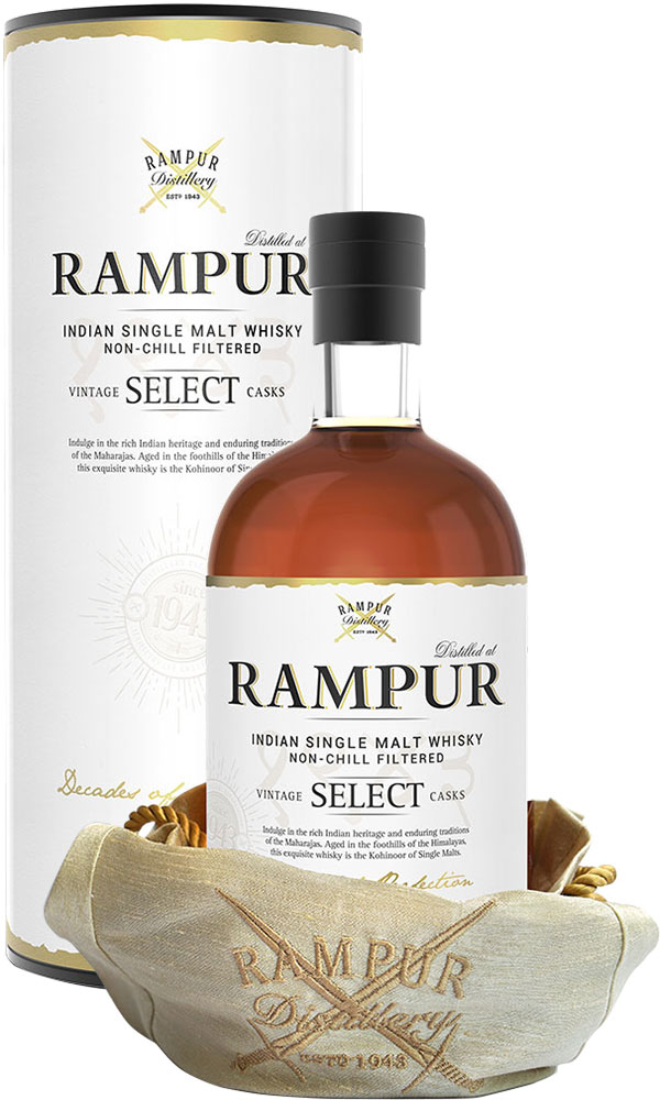 Rampur - Indian Single Malt 70cl Bottle