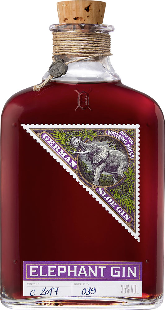 Elephant - Sloe Gin 50cl Bottle