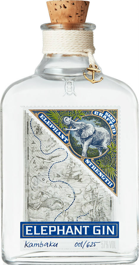 Elephant - Navy Strength Gin 50cl Bottle