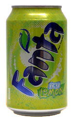 Fanta - Lemon 24x 330ml Cans