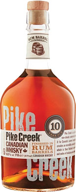 Pike Creek - Canadian Whiskey 70cl Bottle