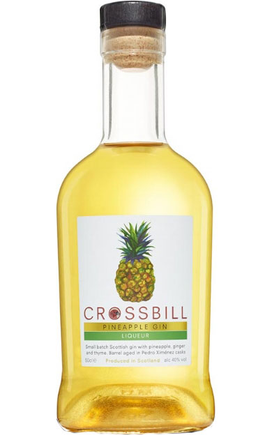 Crossbill - Pineapple Gin Liqueur 50cl Bottle