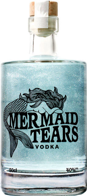 Mermaid Tears - Vodka 50cl Bottle