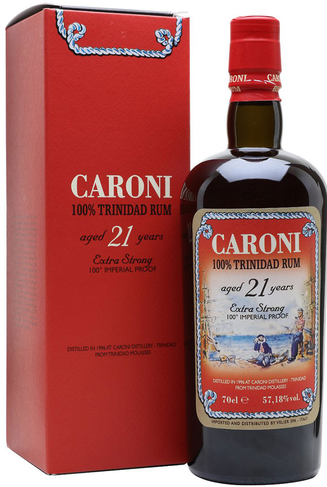 Caroni - 1996 21 Year Old Rum 70cl Bottle