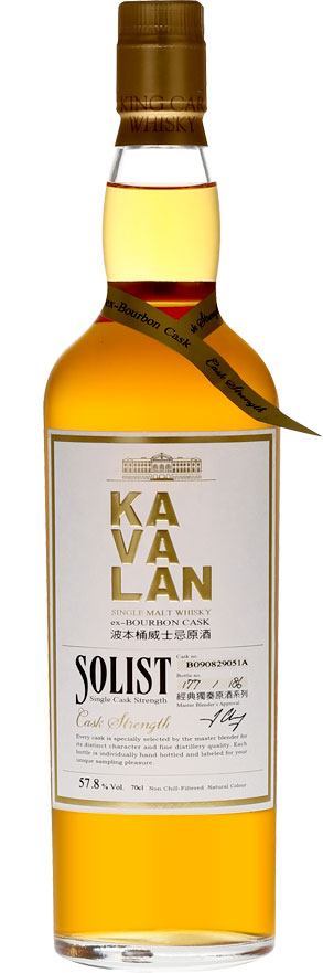 Kavalan - Solist ex-Bourbon Cask 70cl Bottle