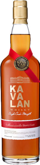 Kavalan - Solist Manzanilla Sherry Cask 70cl Bottle