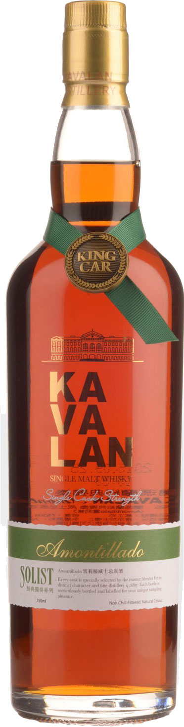Kavalan - Solist Amontillado Sherry Cask 70cl Bottle
