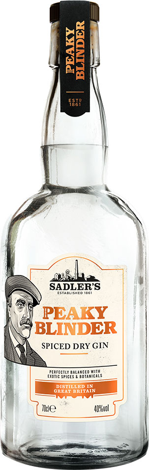 Peaky Blinder - Spiced Dry Gin 70cl Bottle