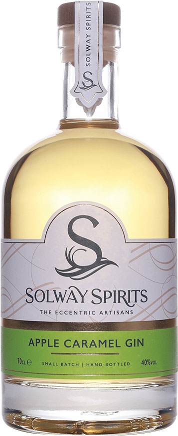 Solway - Apple Caramel Gin 70cl Bottle