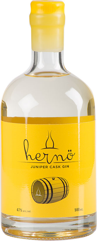 Herno - Juniper Cask Gin 50cl Bottle