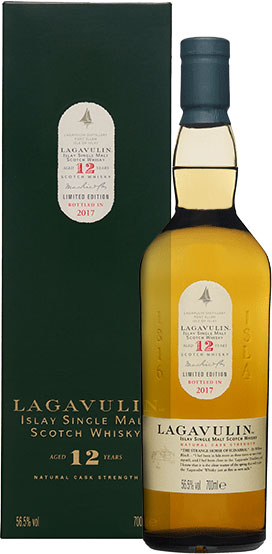 Lagavulin - 12 Year Old Cask Strength 2017 Special Release 70cl Bottle