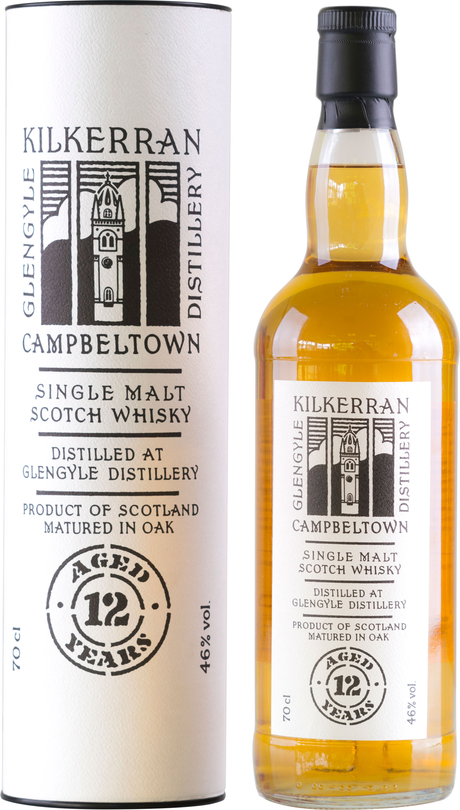 Kilkerran - 12 Year Old 70cl Bottle
