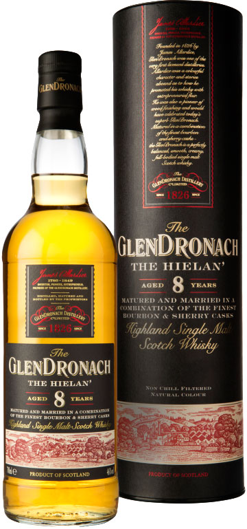 Glendronach - 8 Year Old The Hielan 70cl Bottle