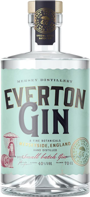 Wirral Distillery - Everton Gin 70cl Bottle