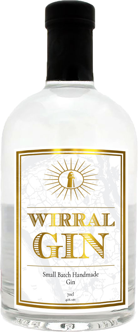 Wirral Distillery - Wirral Gin 70cl Bottle