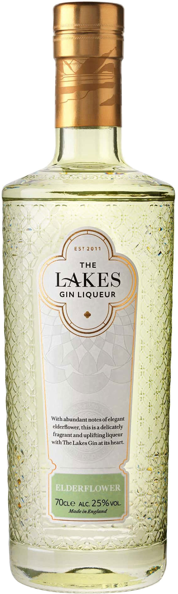 The Lakes - Elderflower Gin Liqueur 70cl Bottle